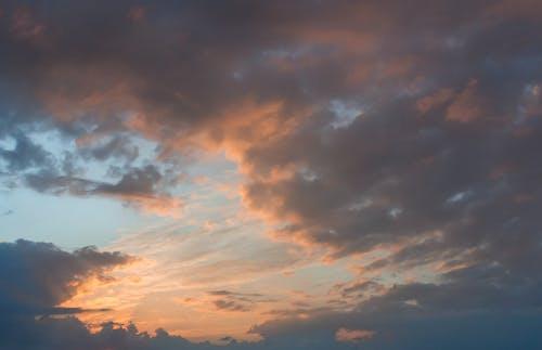 Gratis arkivbilde med brannsol, dyp himmel, dyp sjø, himmel