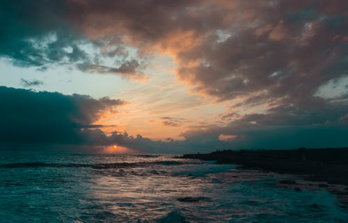 キプロス, ビーチ, 日没, 海の無料の写真素材