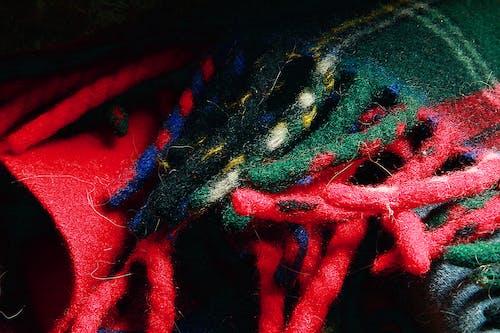 Free stock photo of tartan design, tassel, wool blanket