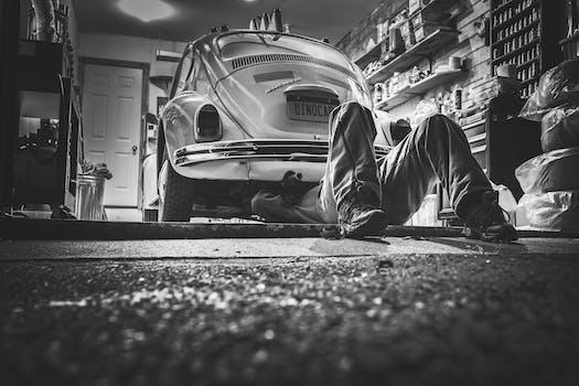 Free stock photo of black-and-white, car, vehicle, vintage
