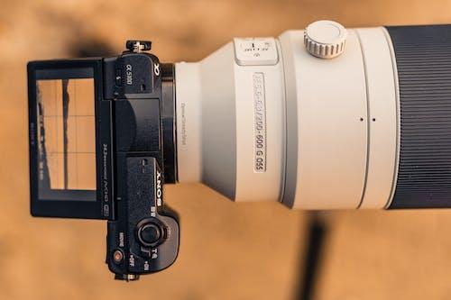 Black and White Nikon Dslr Camera