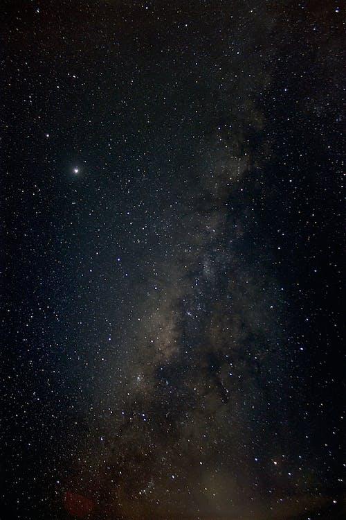Starry Night Sky over the Starry Night