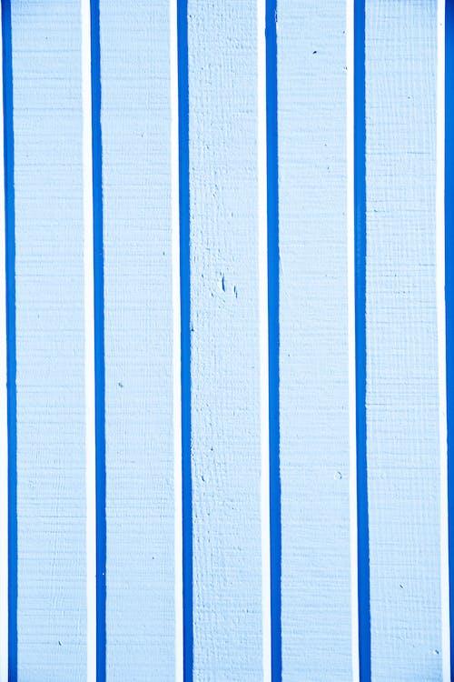Têxtil Listrado De Azul E Branco