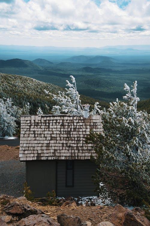 Gratis lagerfoto af bakker, bjergtop, blå, frost
