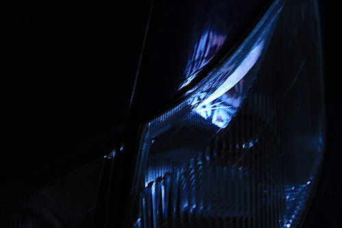 Free stock photo of blue, car, lights
