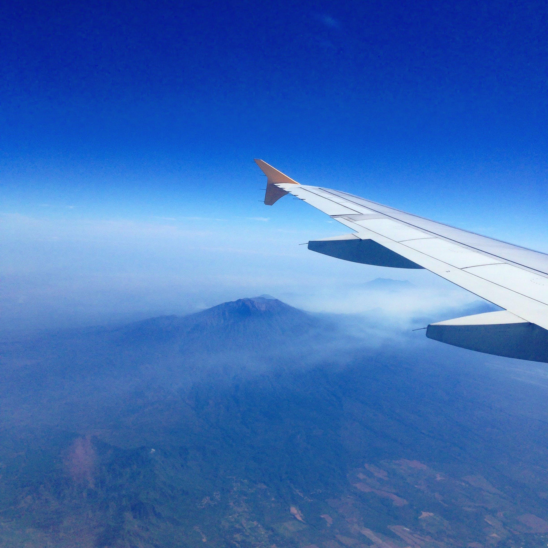 Free stock photo of bird's eye view, mountains, aerial, airplane