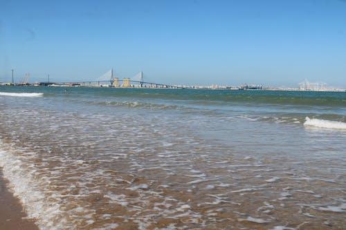 Fotos de stock gratuitas de bahia, paisaje, playa, puente