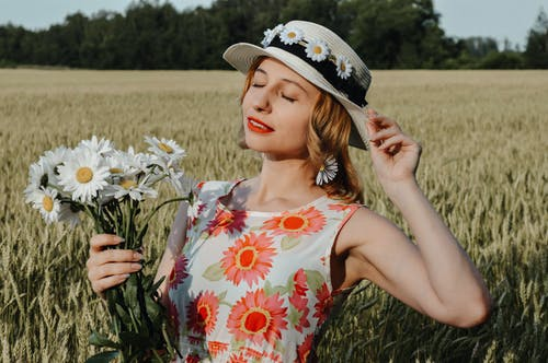 Photos gratuites de beau, bonnet, bouquet