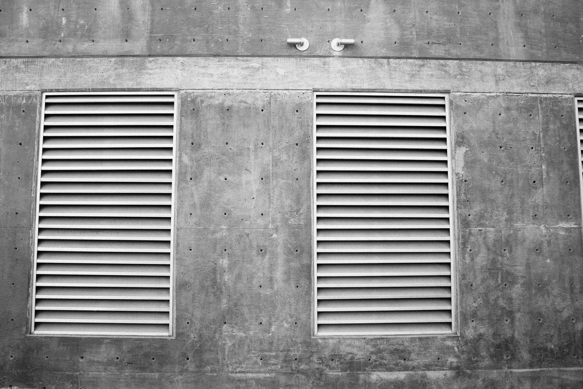 ventilation shaft, ventilator