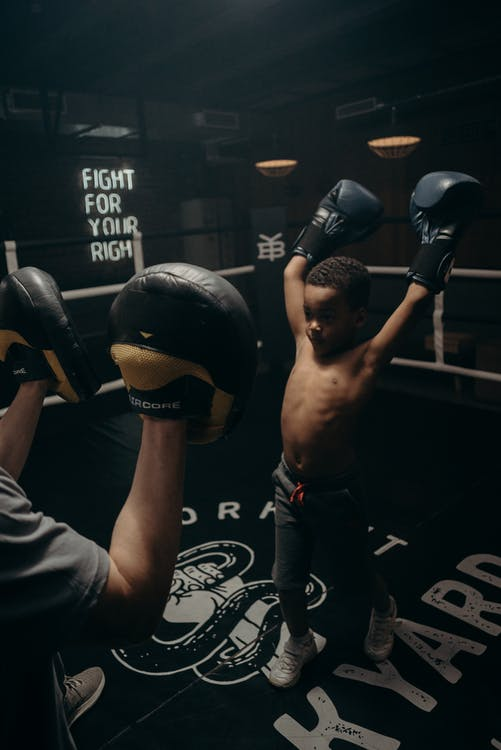 Kostenloses Stock Foto zu afroamerikaner, ausbildung, boxen