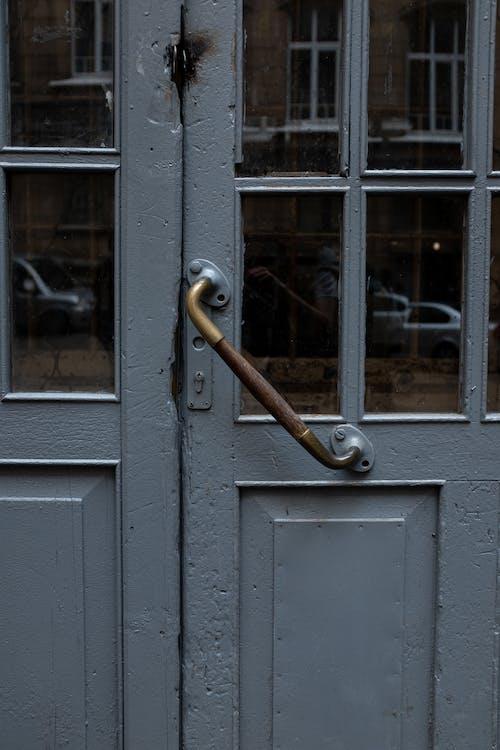 คลังภาพถ่ายฟรี ของ กระจก, บ้าน, ประตู, ปิด