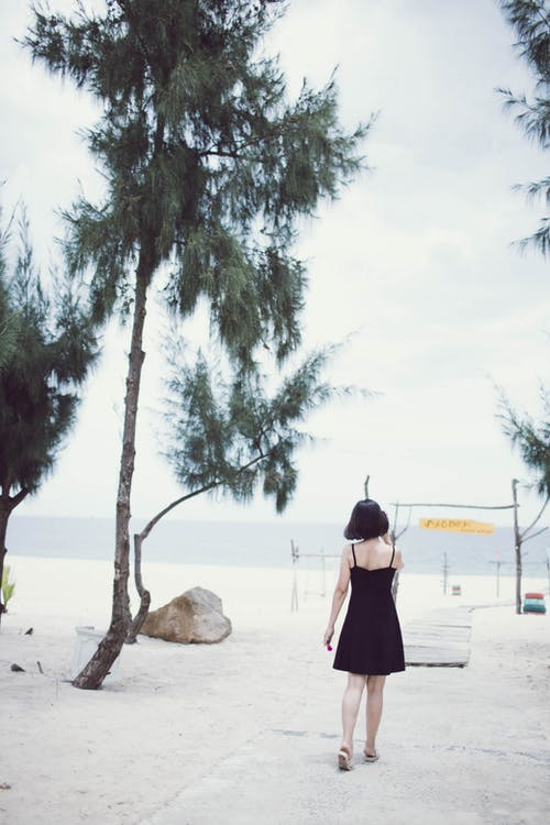 Free stock photo of beach, girl, ocean