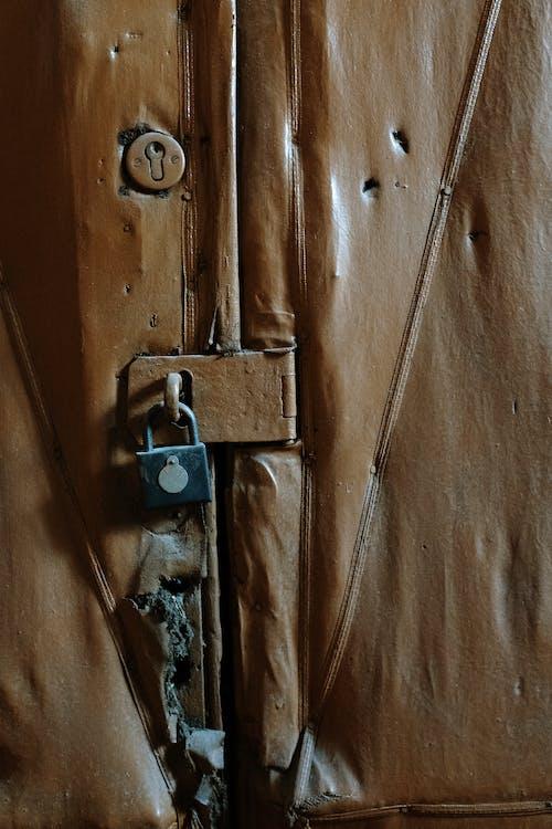 Základová fotografie zdarma na téma detailní záběr, díry, dveře