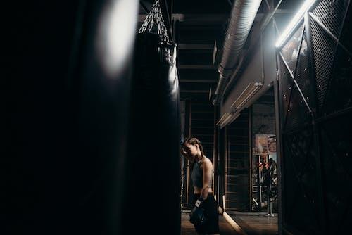 Gratis stockfoto met binnen, binnenshuis, boksbal