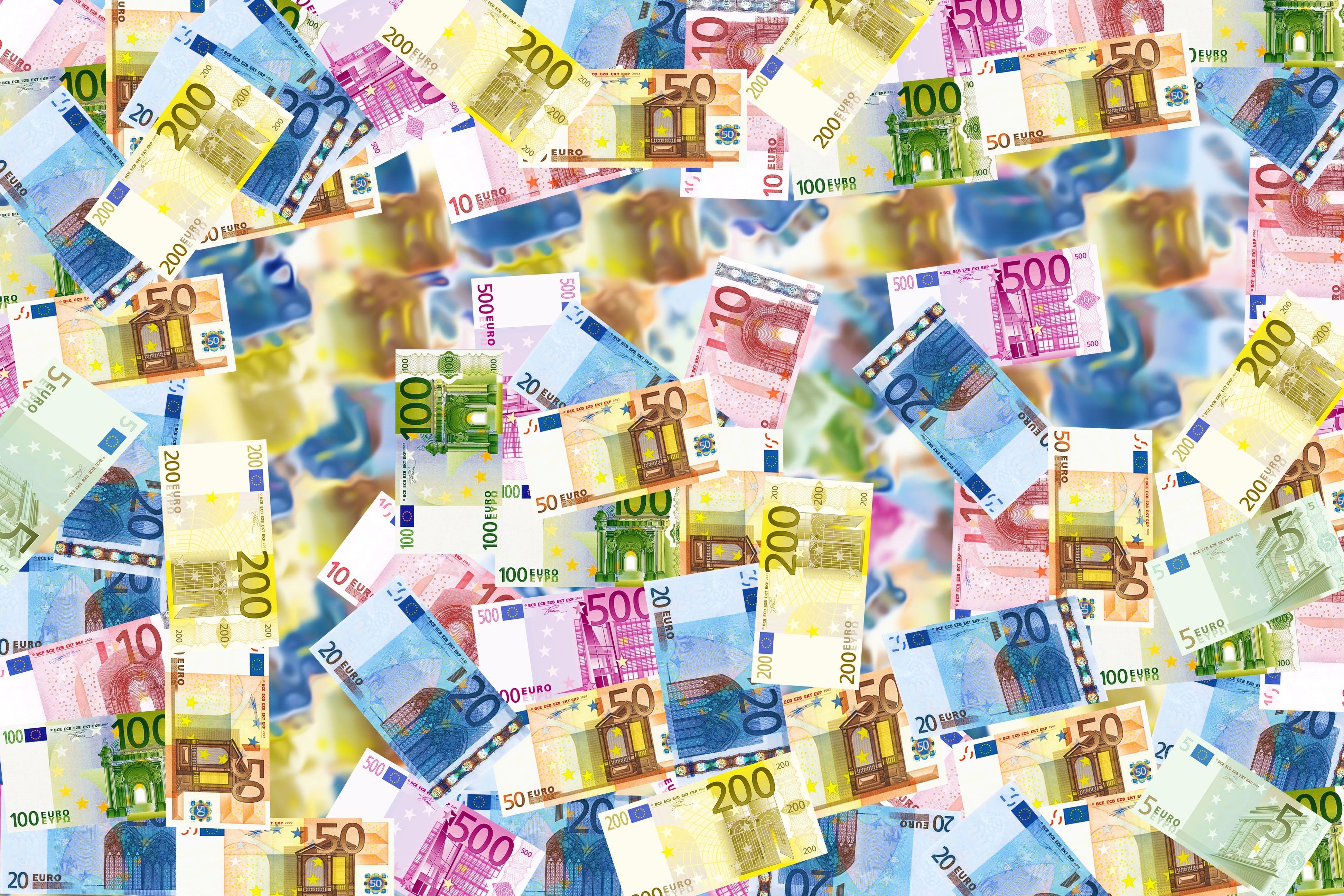 Kostnadsfri bild av ekonomi, kontanter, pengar, rikedom