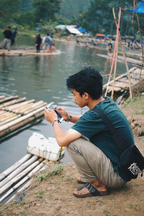 3, 강, 그룹의 무료 스톡 사진