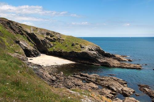 Gratis stockfoto met blauw, blauwe zee, cornish beach