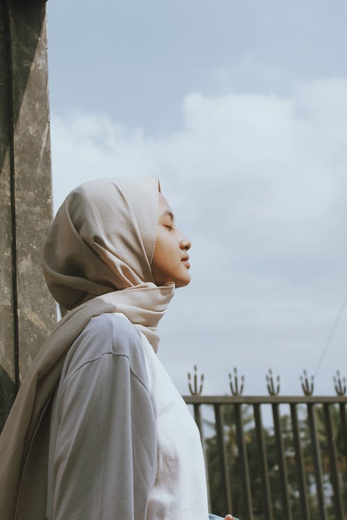 Photo of a Woman Wearing Hijab
