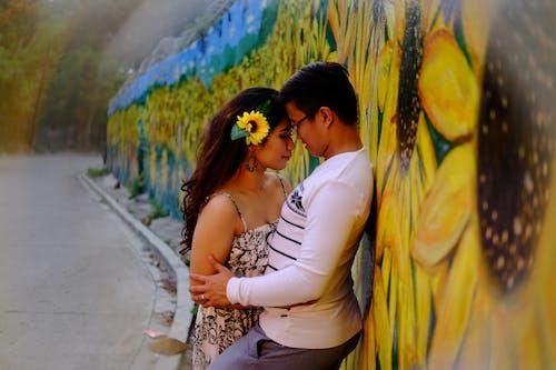 Free stock photo of engagement, love, sunflower, sweet