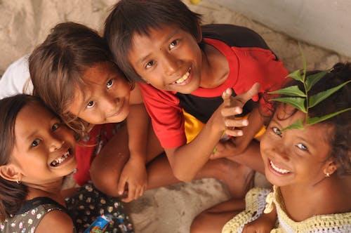 Free stock photo of child, children, locals, smile