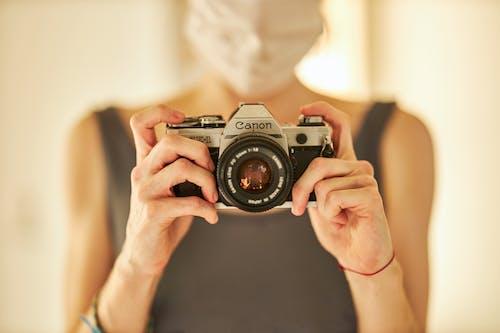 Darmowe zdjęcie z galerii z aparat, canon, cielisty, dalmierz