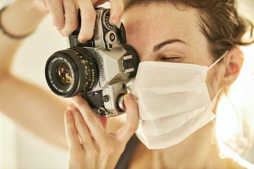 Darmowe zdjęcie z galerii z aparat, biały, cel, choroba