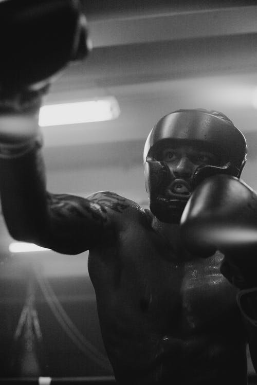 Kostnadsfri bild av afroamerikan, atletisk, bar överkropp, boxare