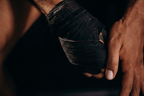 Kostenloses Stock Foto zu athlet, boxer, detail, energie