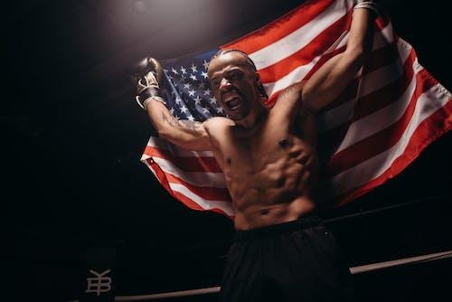 Fotos de stock gratuitas de abdominales, afroamericano, boxeador