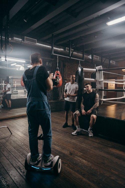 Foto stok gratis dalam ruangan, di belakang panggung, Gym