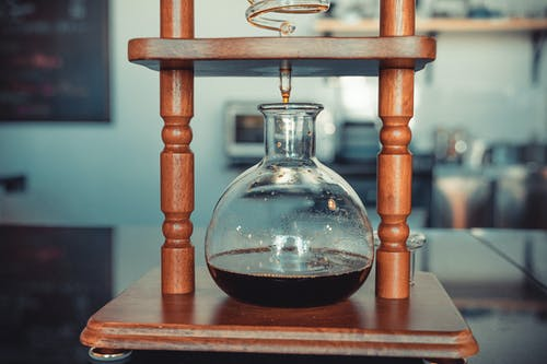 Hourglass on Wooden Frame