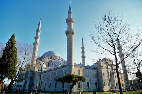 Kostenloses Stock Foto zu cami, islam, kubbe, lärm