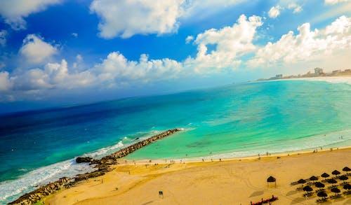 Бесплатное стоковое фото с берег, береговая линия, вода, волны