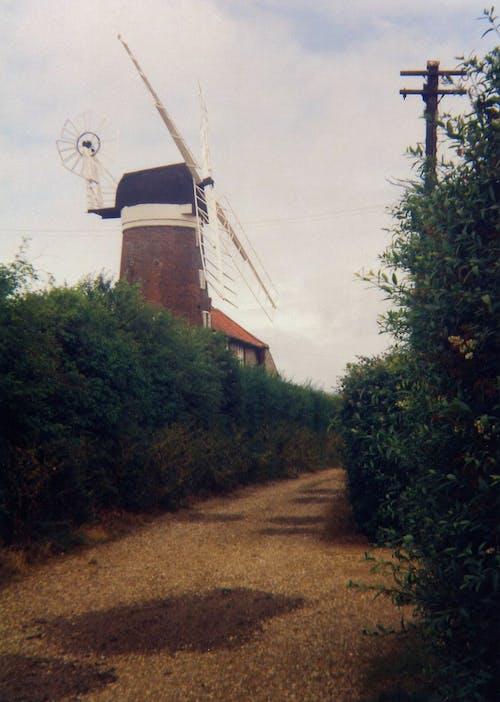 小路, 巷道, 研磨, 老式照片 的 免費圖庫相片