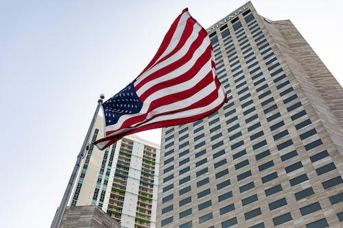 Kostenloses Stock Foto zu amerika, amerikanisch, amerikanische flagge, amerikanische flaggen