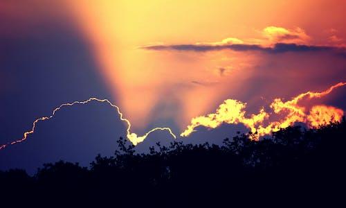 Free stock photo of cloud, india, sunrise