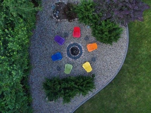 Kostenloses Stock Foto zu bunt, draussen, farbenfroh, farbkreis