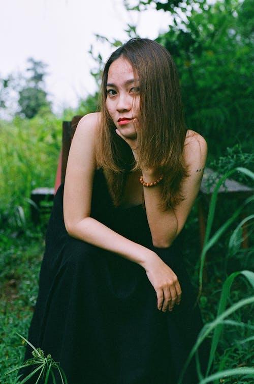 Ingyenes stockfotó 35 mm, álló kép, ázsiai, fekete témában