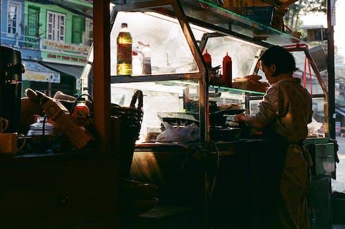 Foto profissional grátis de 28mm, 35 mm, café da manhã, cereais