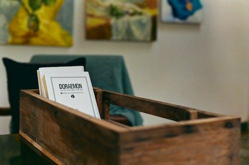Gratis arkivbilde med 35 mm, bok, bokbindinger, boks