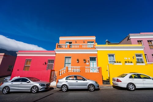 Free stock photo of bokaap, capetown, cars