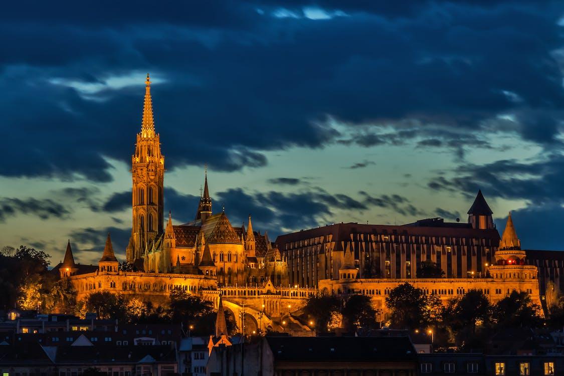arquitetura, Budapeste, capela