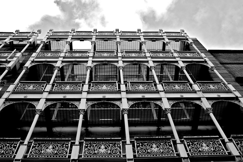 Kostenloses Stock Foto zu haus, schwarz und weiß