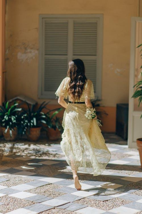 タイル, ドレス, フラワーズの無料の写真素材