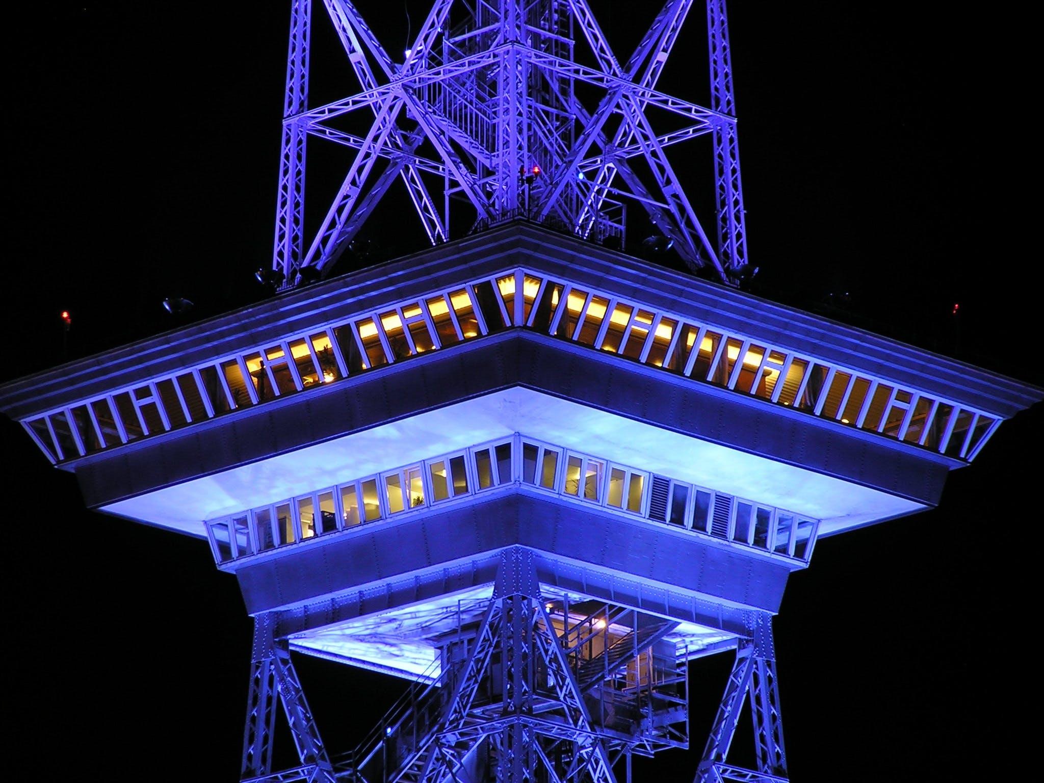 Fotos de stock gratuitas de arquitectura, edificio, estructura, noche