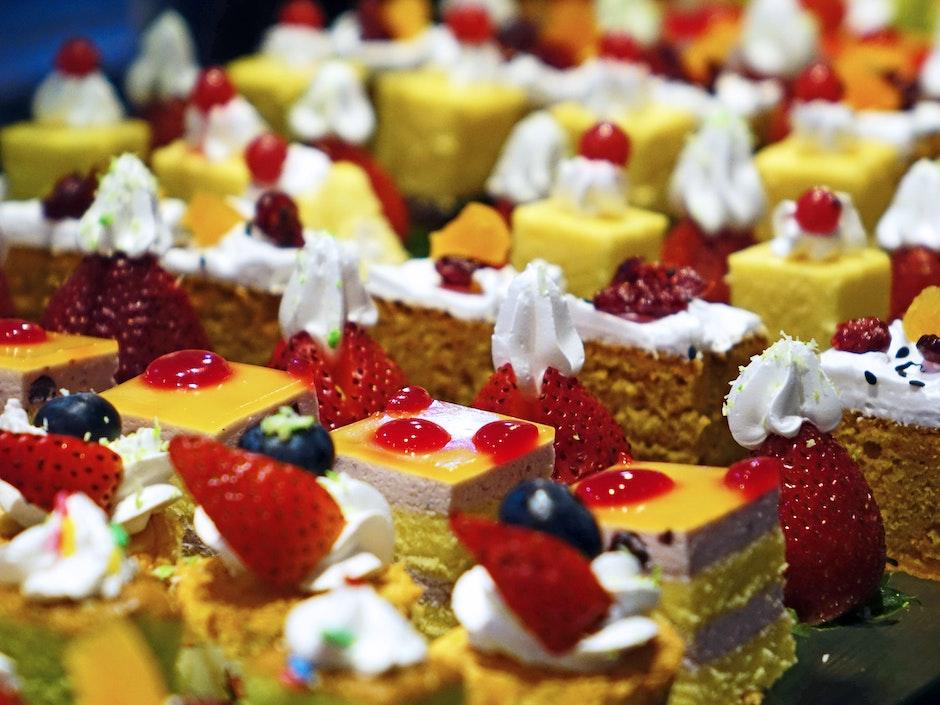 baked, bakery, cakes