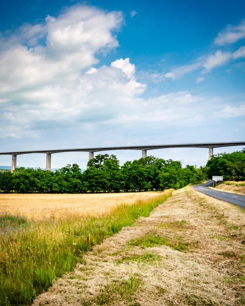 Free stock photo of agriculture, architecture, asphalt, autobahn