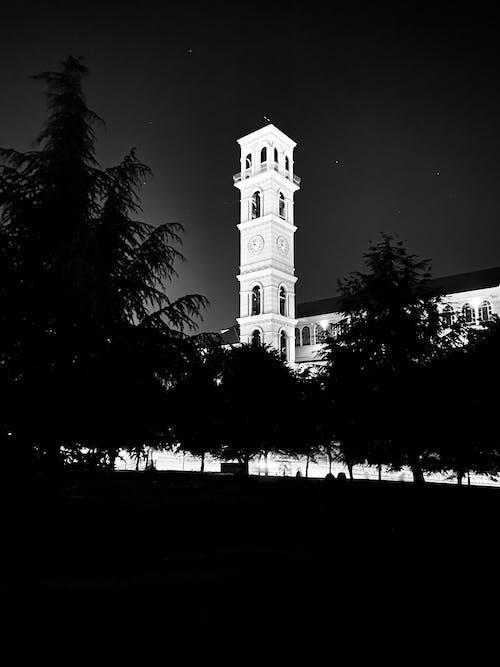 Fotos de stock gratuitas de catedral, noche oscura, por la noche