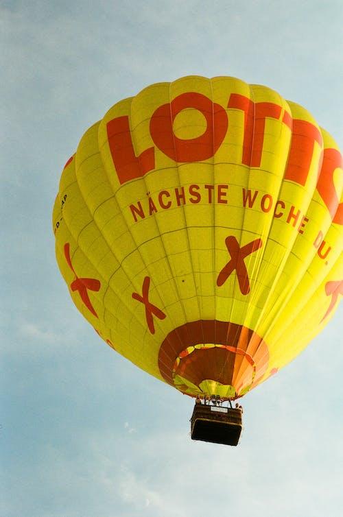 Gratis arkivbilde med ballong, ballong på himmelen, eventyr, film