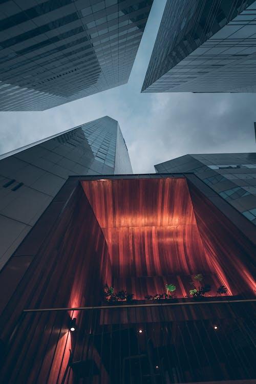 Free stock photo of city, citylights, newyork
